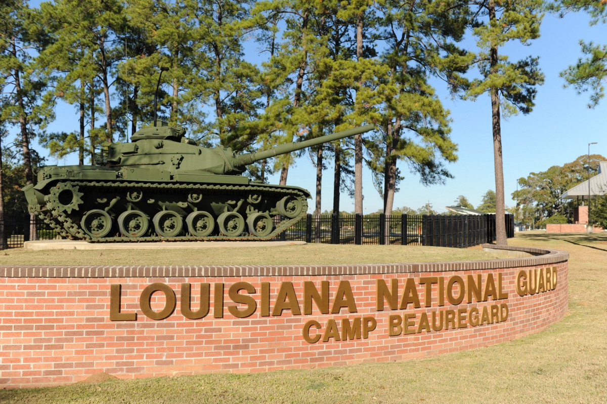 Camp Beauregard Today - History of Camp Beauregard