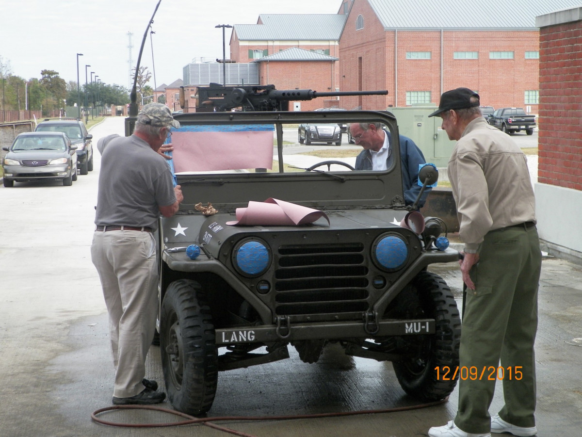 M151A2 Jeep and M2 Browning Machine Gun Replicas