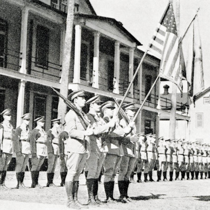 Louisiana National Guard Moves In - History of Jackson Barracks