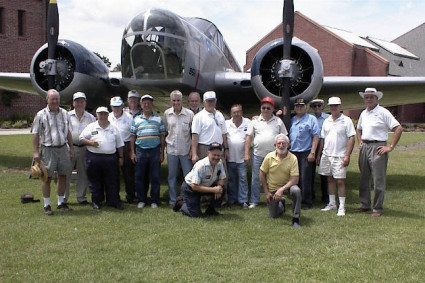 122nd Bomb Squadron Restoration Group - About